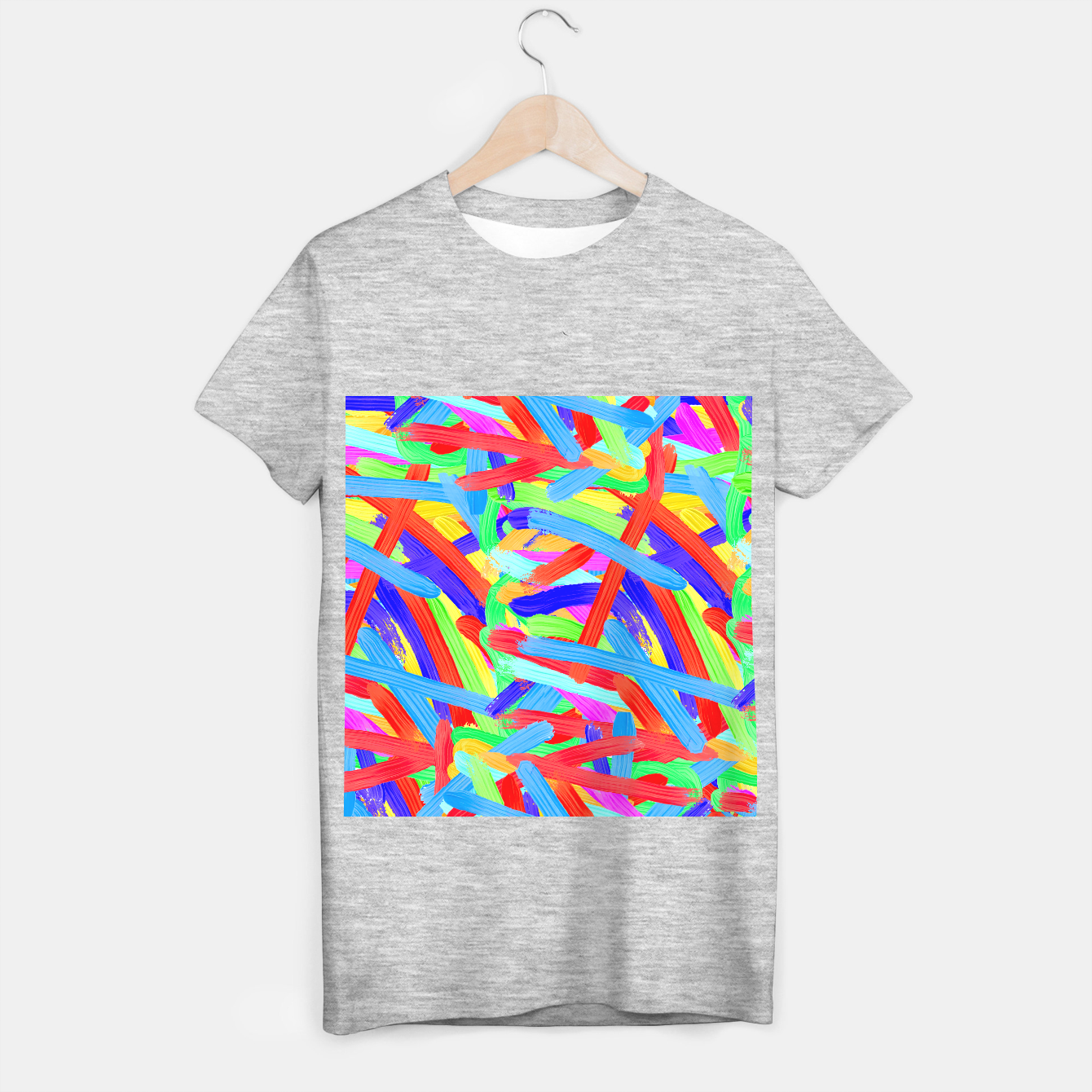 Image of Colorful Finger Painting T-shirt regular - Live Heroes