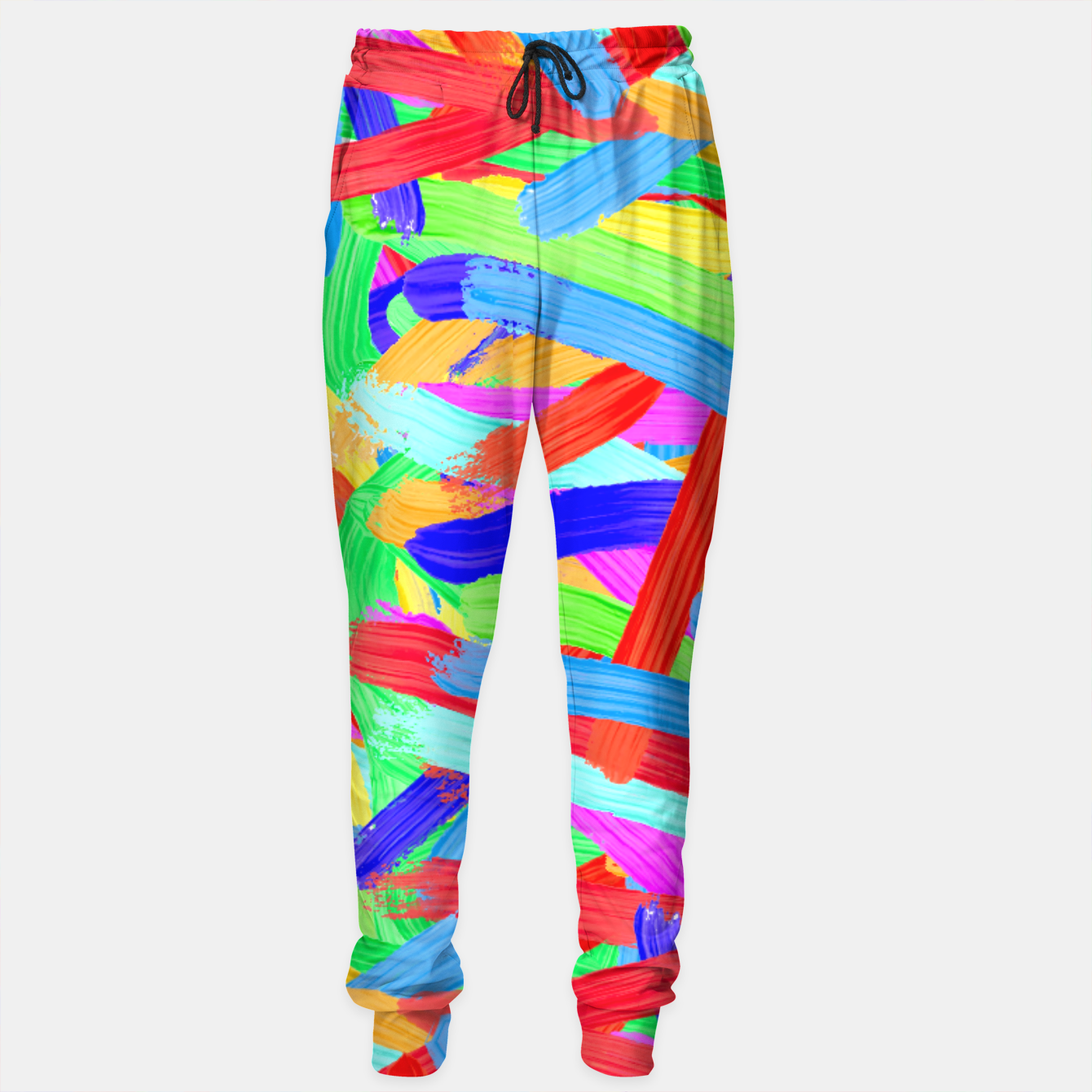 Image of Colorful Finger Painting Sweatpants - Live Heroes