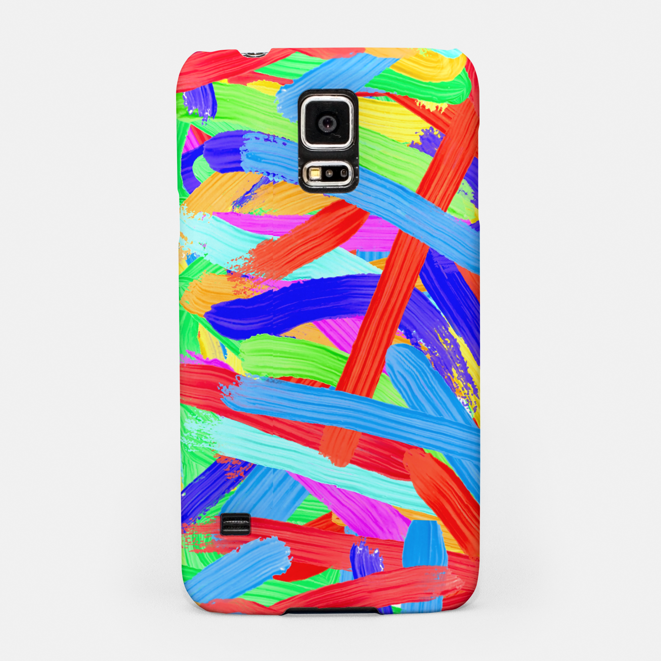 Image of Colorful Finger Painting Samsung Case - Live Heroes
