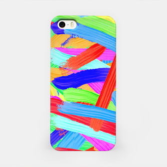 Colorful Finger Painting iPhone Case thumbnail image