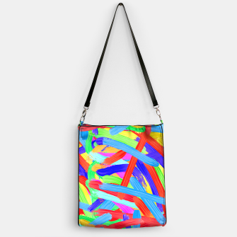 Thumbnail image of Colorful Finger Painting Handbag, Live Heroes