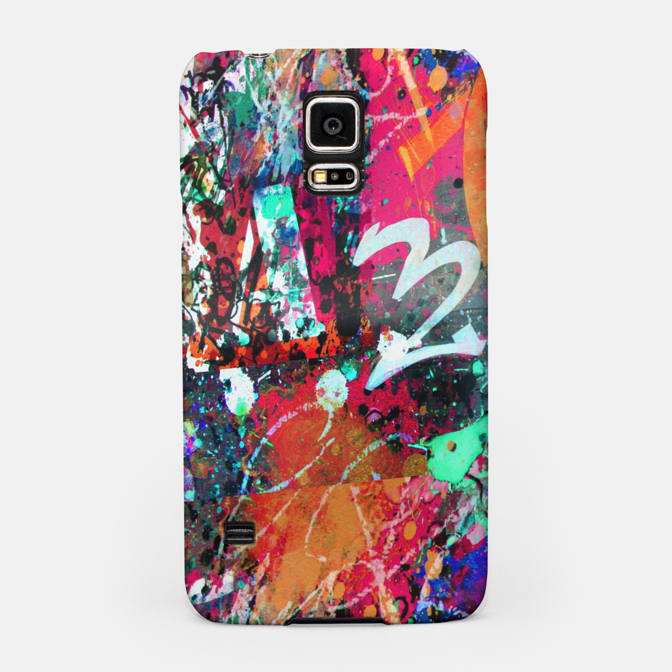 Image of Graffiti and Paint Splatter  Samsung Case - Live Heroes