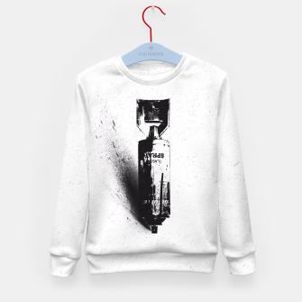 Thumbnail image of Weapon of Mass Creation Kid's Sweater, Live Heroes