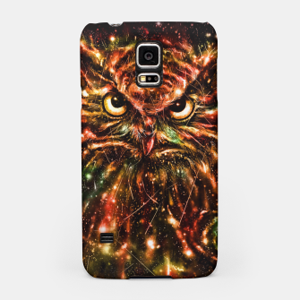 Thumbnail image of Space Owl Samsung Case, Live Heroes