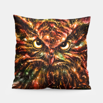 Thumbnail image of Space Owl Pillow, Live Heroes