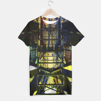 Thumbnail image of Derealized - Spaceship 4 T-shirt, Live Heroes