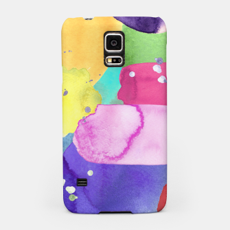 Thumbnail image of WATERCOLOR Samsung Case, Live Heroes