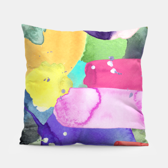 Thumbnail image of WATERCOLOR Pillow, Live Heroes