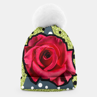 Thumbnail image of POP ROSE Beanie, Live Heroes