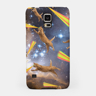 Miniatur SPACE CATS Samsung Case, Live Heroes