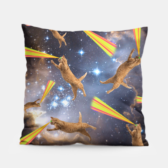 Miniatur SPACE CATS Pillow, Live Heroes