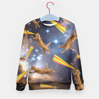 Miniatur SPACE CATS Kid's Sweater, Live Heroes