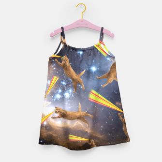 Miniatur SPACE CATS Girl's Dress, Live Heroes