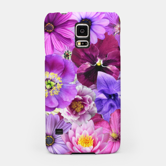 Thumbnail image of PURPLE FLOWERS Samsung Case, Live Heroes