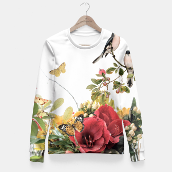 Thumbnail image of FLOURISHING Fitted Waist Sweater, Live Heroes