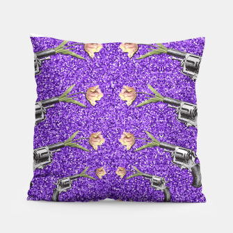 Thumbnail image of FLORAL SHOT Pillow, Live Heroes