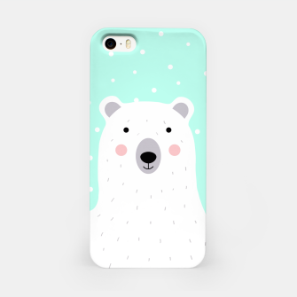 Thumbnail image of Cute Winter Polar Bear -  Illustration - DESIGN -  iPhone Case, Live Heroes
