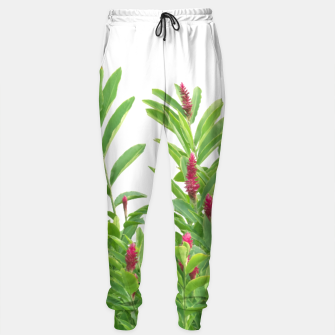 Thumbnail image of Tropical Floral Print Sweatpants, Live Heroes