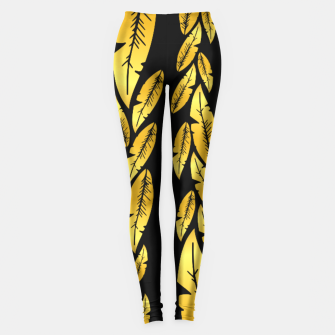 Thumbnail image of Golden Leafs Leggings, Live Heroes