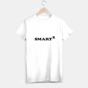 Miniatur Smarted Conceptual Typographic Design T-shirt regular, Live Heroes