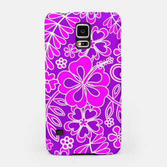 Thumbnail image of Hibiscus Pink and Purple Pattern  Samsung Case, Live Heroes