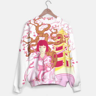 Thumbnail image of Cherry Blossoms Sudadera, Live Heroes
