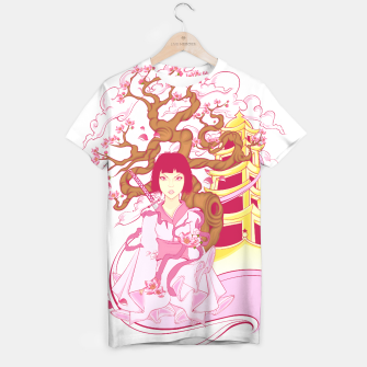 Thumbnail image of Cherry Blossoms Camiseta, Live Heroes