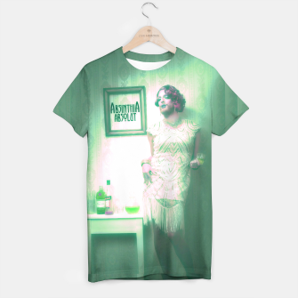 Thumbnail image of filled with absinth T-Shirt, Live Heroes