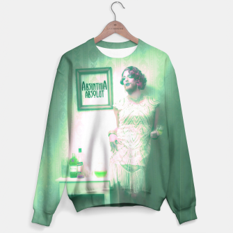 Thumbnail image of filled with absinth Sweatshirt, Live Heroes