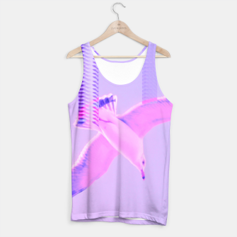 Thumbnail image of Nudge the Seagull Tank Top, Live Heroes