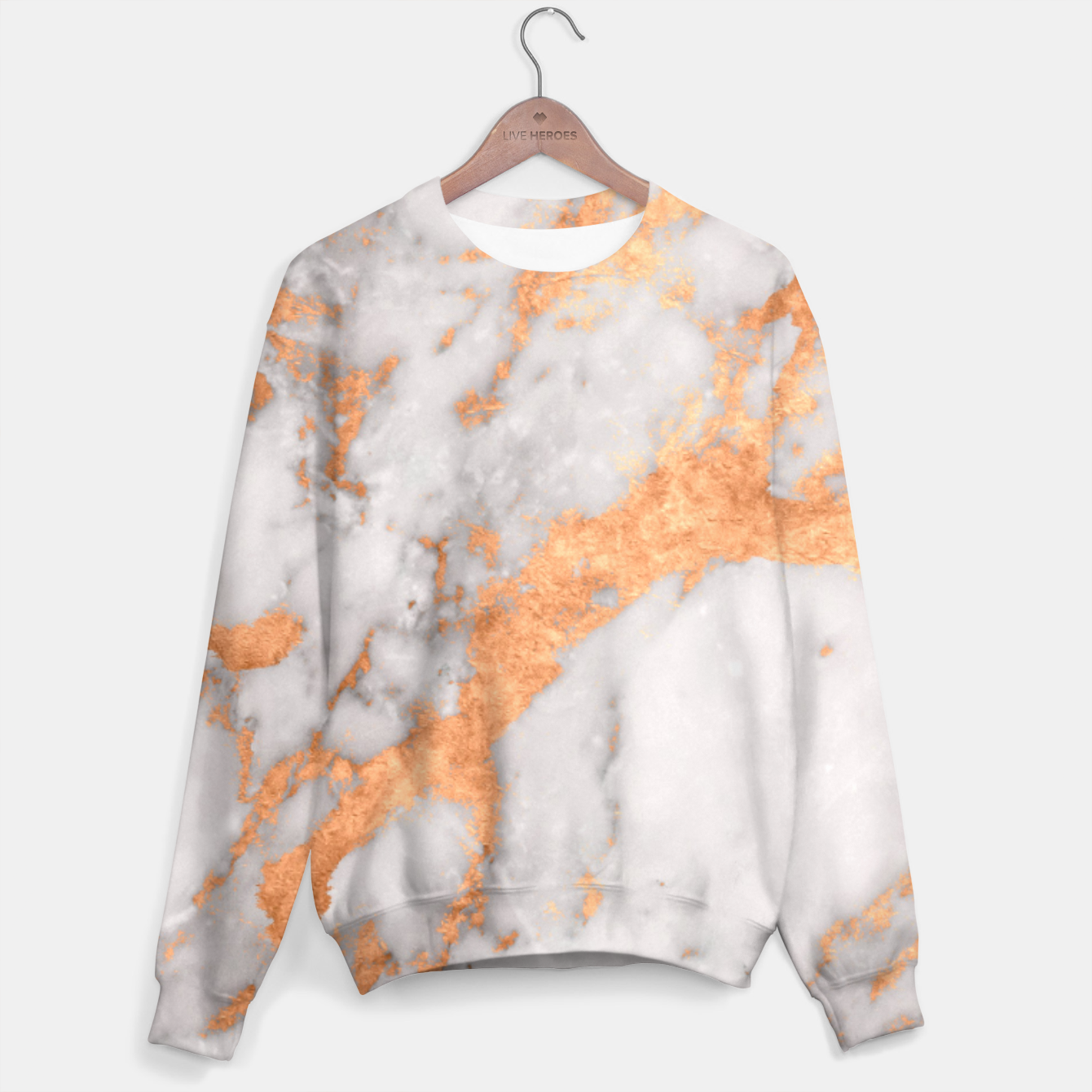 Image of Copper Marble Sweater - Live Heroes