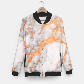Thumbnail image of Copper Marble Baseball Jacket, Live Heroes