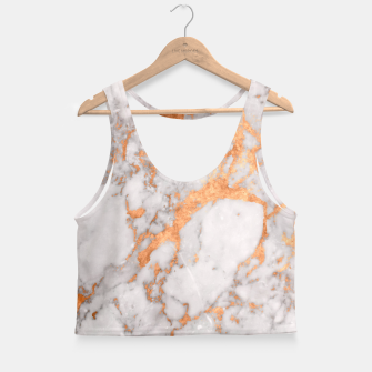 Thumbnail image of Copper Marble Crop Top, Live Heroes