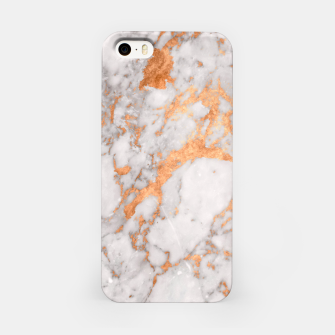 Thumbnail image of Copper Marble iPhone Case, Live Heroes