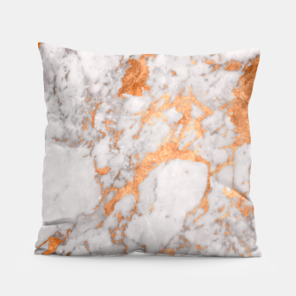 Copper Marble Pillow thumbnail image