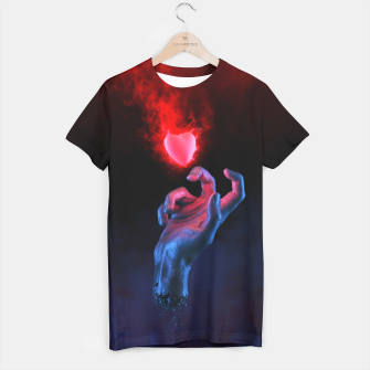 Thumbnail image of The Fleeting Heart T-shirt, Live Heroes