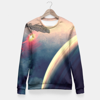 Excursion through time Fitted Waist Sweater thumbnail image