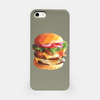 Thumbnail image of Gourmet Burger Polygon Art iPhone Case, Live Heroes