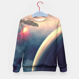 Thumbnail image of Excursion through time Kid's Sweater, Live Heroes