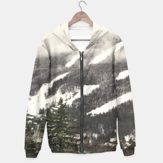 Thumbnail image of Snow Mountain Landscape Hoodie, Live Heroes