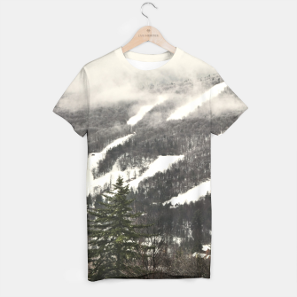 Thumbnail image of Snow Mountain Landscape T-shirt, Live Heroes