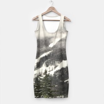 Thumbnail image of Snow Mountain Landscape Simple Dress, Live Heroes