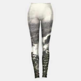 Thumbnail image of Snow Mountain Landscape Leggings, Live Heroes