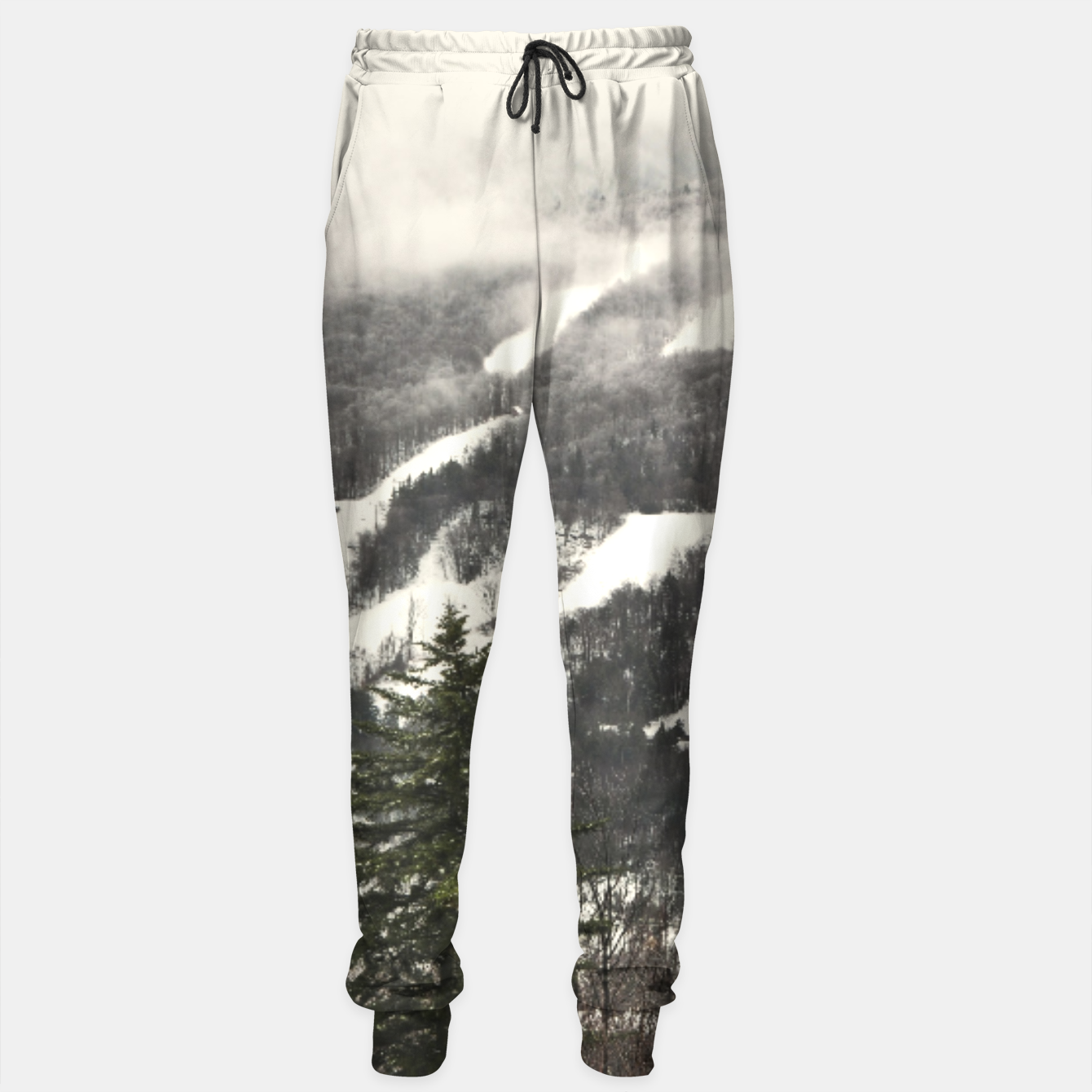 Image of Snow Mountain Landscape Sweatpants - Live Heroes