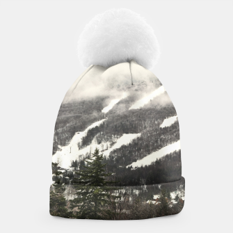 Thumbnail image of Snow Mountain Landscape Beanie, Live Heroes