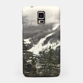 Snow Mountain Landscape Samsung Case thumbnail image