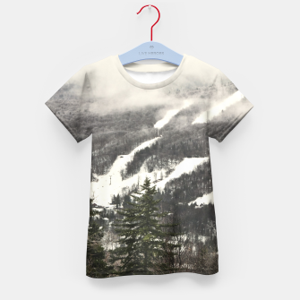 Thumbnail image of Snow Mountain Landscape Kid's T-shirt, Live Heroes