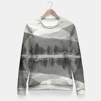 Thumbnail image of Rocky Mountain Fitted Waist Sweater, Live Heroes