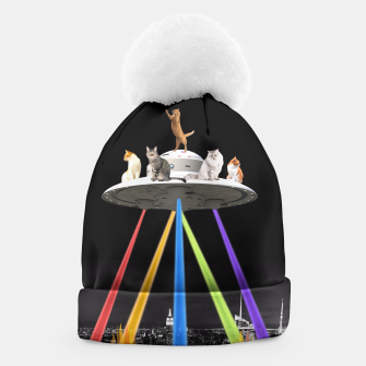 Thumbnail image of CAT INVADERS Beanie, Live Heroes