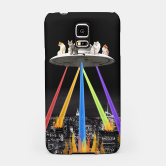 Thumbnail image of CAT INVADERS Samsung Case, Live Heroes
